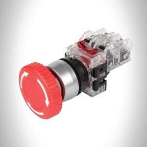 کلید امرجنسی (قارچی) بدون چراغ مدل MRE-TM1R هانیانگ