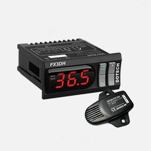 کنترلر دما و رطوبت مدل FX3DH-00+HTX20-FTS-502 دوتک