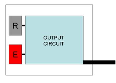 طراحی داخلی سنسور های فتو الکتریک